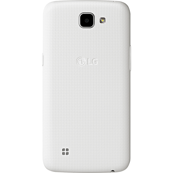 Smartphone K4 K130F, Android 5.1, Tela 4,5, 8GB, 5MP, 4G, Dual Chip, Branco - LG