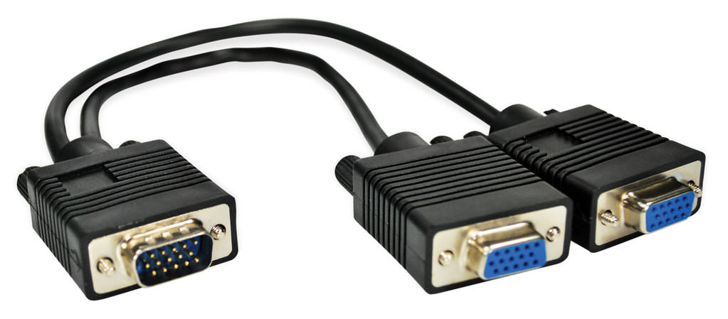 Cabo Adaptador VGA para 2 Monitores 8390 Leadership