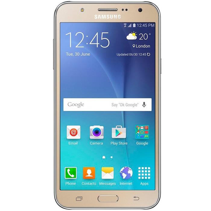 Smartphone Galaxy J7 Duos SM-J700M, Octa Core, Android 5.1, Tela 5.5, 16GB, 13MP, 4G, Dourado - Samsung