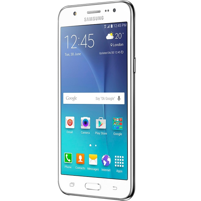 Smartphone Galaxy J5 Duos SM-J500M/DS, Quad Core 1.2Ghz, Android 5.1, Tela 5, 16GB, 13MP, 4G, Dual Chip, Branco - Samsung