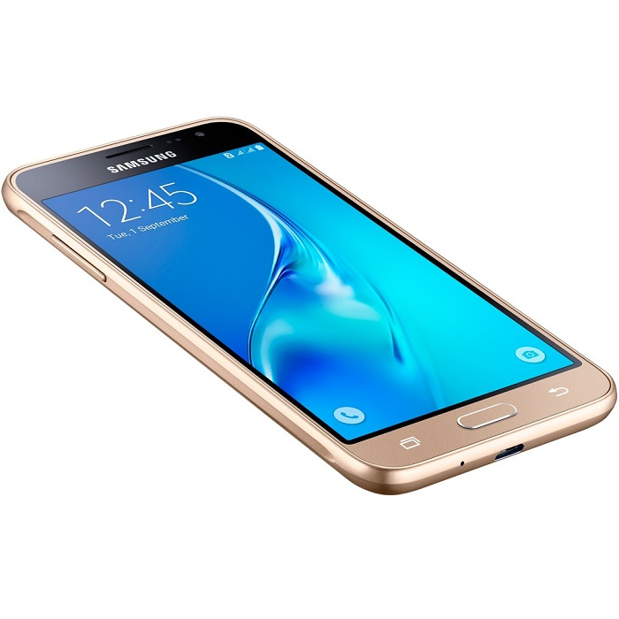 Smartphone Galaxy J3 SM-J320M/DS, Quad Core 1.5 Ghz, Android 5.1, Tela de 5, 8GB, 8 MP, 4G, Dual Chip, Dourado - Samsung