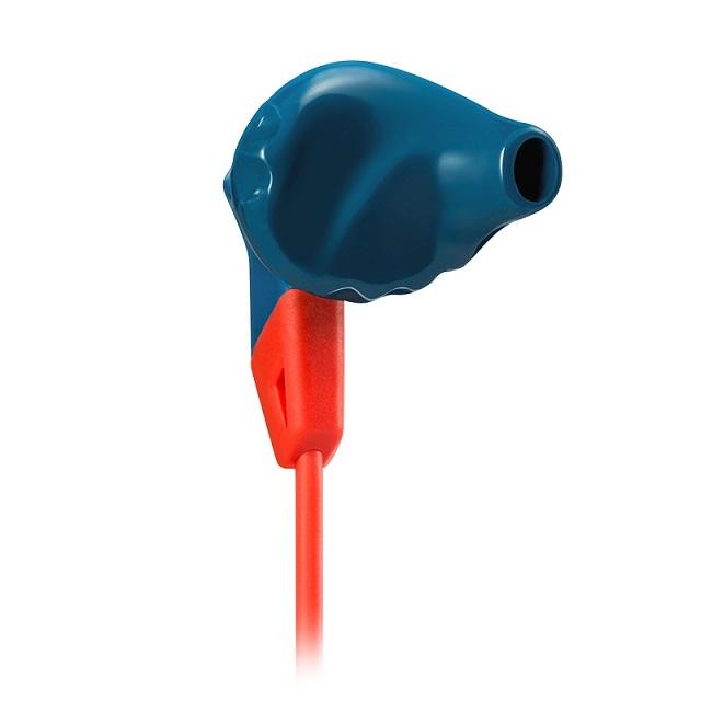 Fone de Ouvido Grip 200 (Controle/Microfone) Esportivo Azul/Laranja JBLGRIP200BLUE - JBL