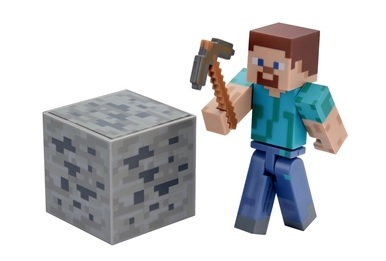 Minecraft Boneco Com Acessórios BR144 - Multilaser