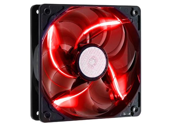 Cooler SickleFlow 120mm LED VERMELHO - R4-L2R-20AR-R1 - Coolermaster