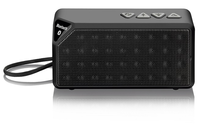 Caixa de Som Bluetooth Music 8W RMS Preto SP174 - Multilaser