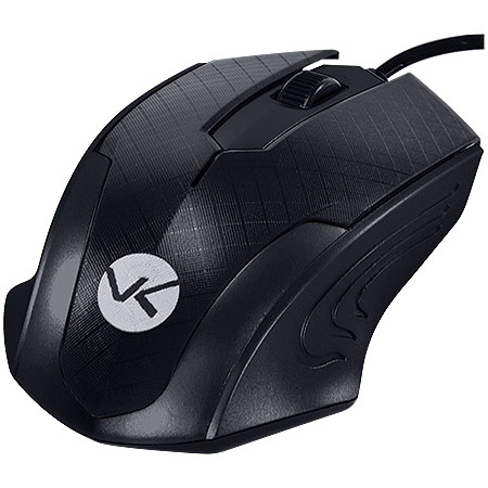 Mouse Optico PS2 MB70 1200DPI Preto 23820 - Vinik