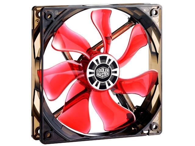 Cooler para Gabinete 120mm XtraFLO VERMELHO R4-XFBL-22PR-R1 - Coolermaster
