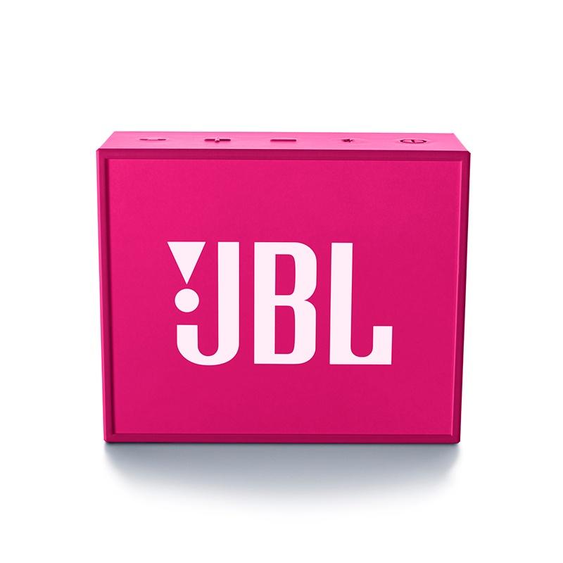Caixa de Som JBL GO Bluetooth (Bateria Recarregável) Pink JBLGOPINK - JBL
