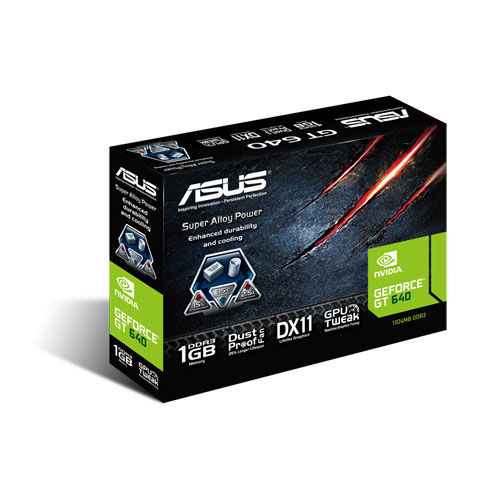 Placa de Video GeForce GT640 1GB DDR3 GT640-1GD3-L - Asus