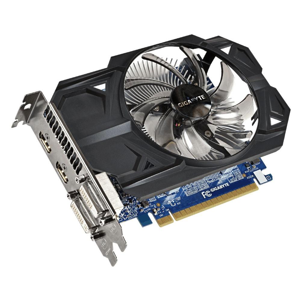 Placa de Vídeo Geforce GTX750Ti 1GB OC DDR5 128Bits Rev 2.0 GV-N75TOC-1GI - Gigabyte