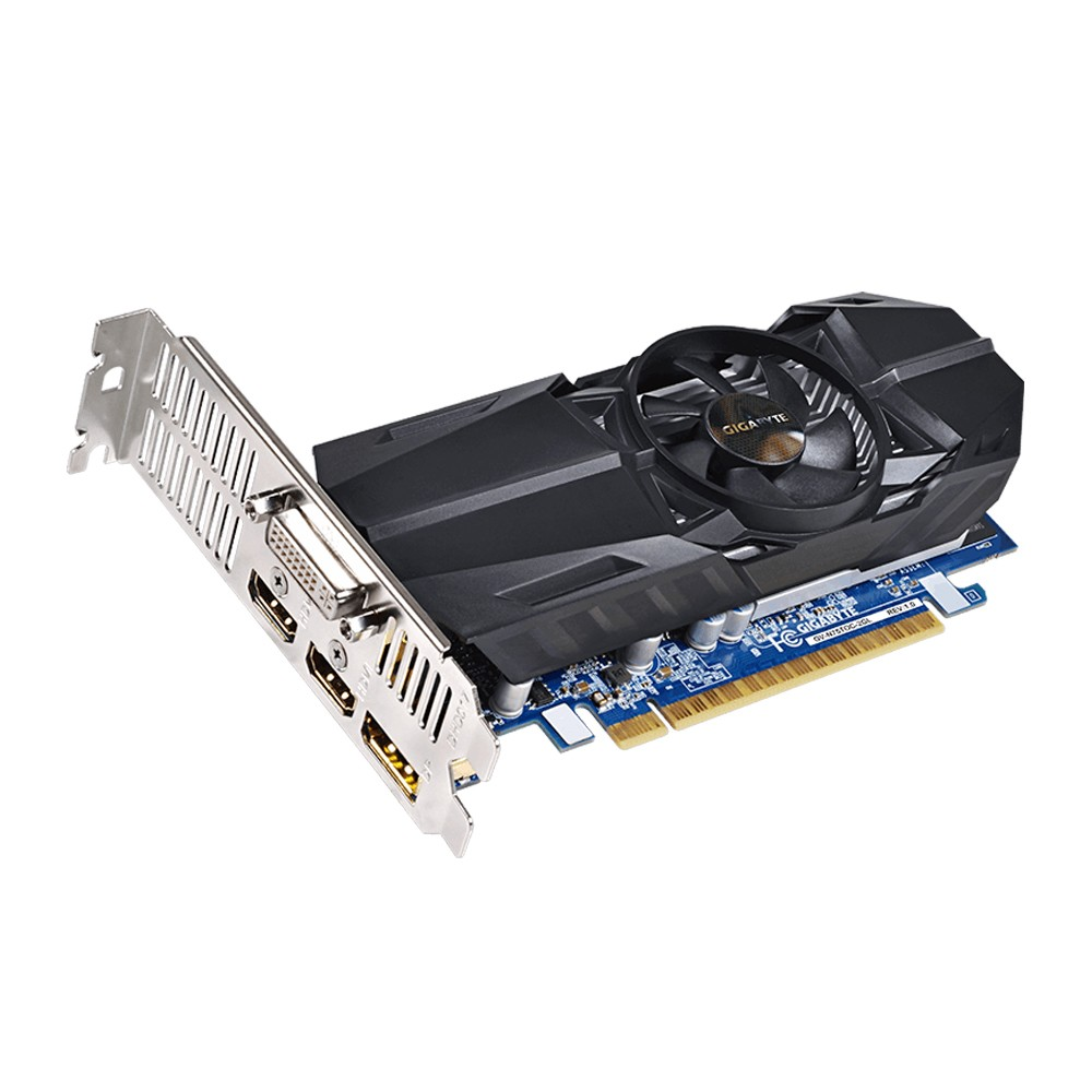 Placa de Vídeo Geforce GTX750 Ti 2GB OC DDR5 128Bits Low Profile GV-N75TOC-2GL - Gigabyte