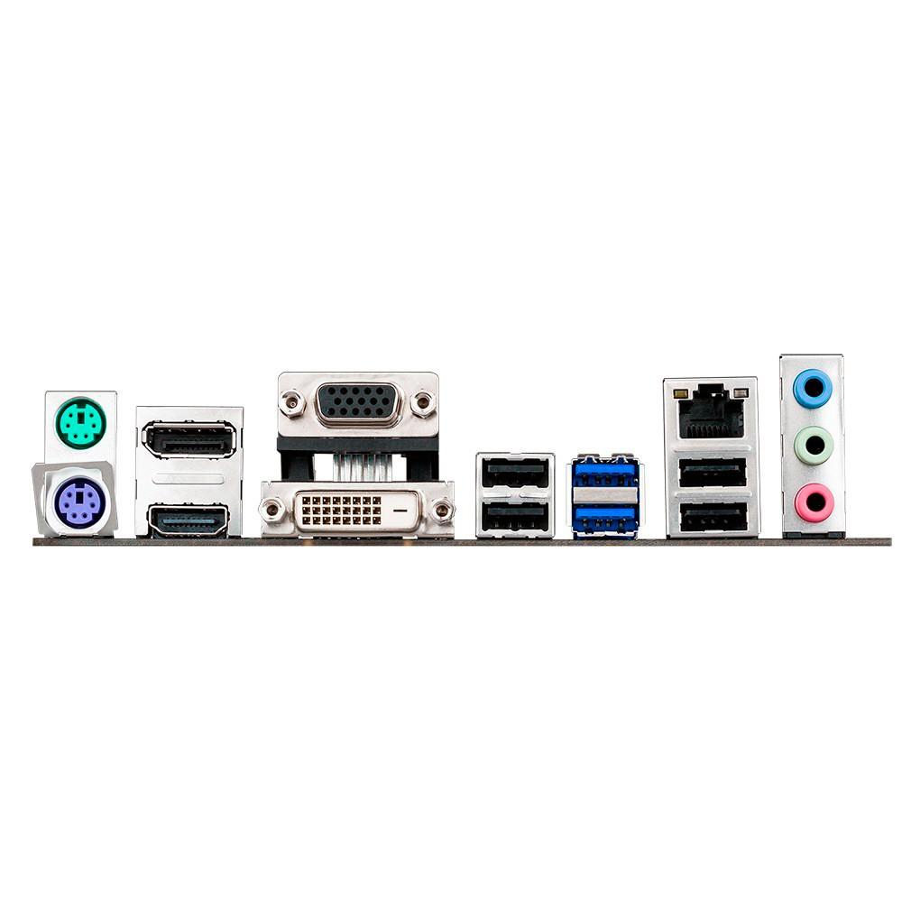 Placa Mãe LGA 1150 B85M-E BR (S/V/R) USB 3.0 - Asus
