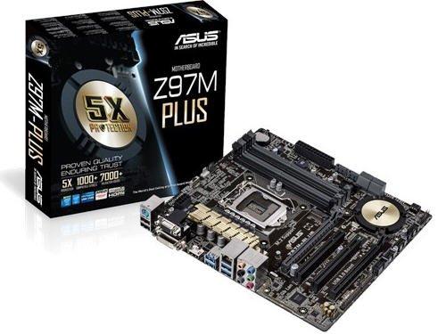 Placa Mãe LGA 1150 Z97M-Plus/BR (S/V/R) - Asus