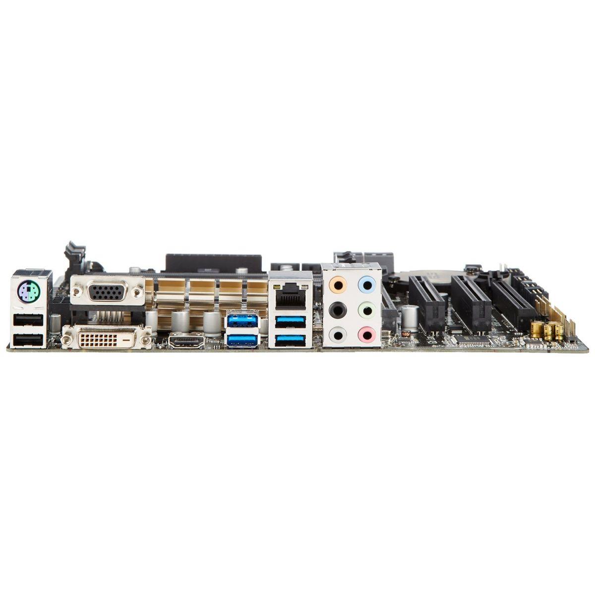 Placa M�e LGA 1150 Z97M-Plus/BR (S/V/R) - Asus