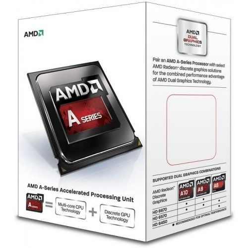 Processador FM2 A4 6300 Dual Core, 3.7Ghz AD6300OKHLBOX - AMD