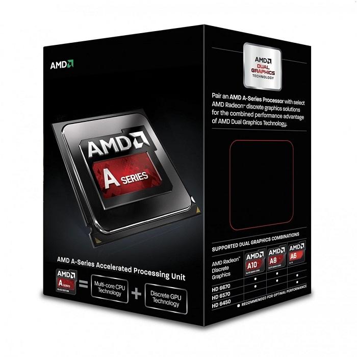 Processador FM2 A8 7650K Quad-Core, 3.3GHz AD765KXBJABOX - AMD