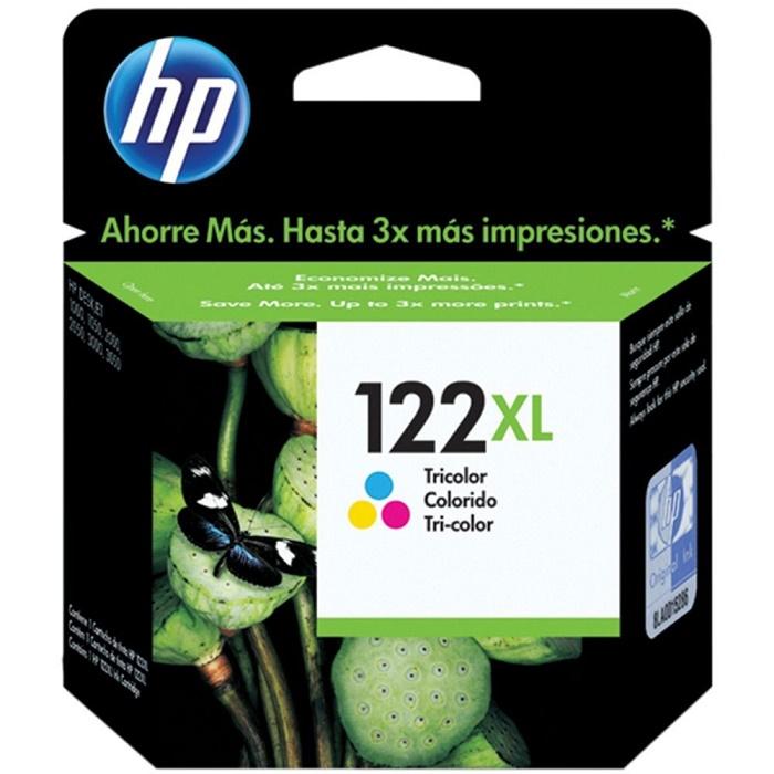 Cartucho 122XL Colorido CH564HB - HP