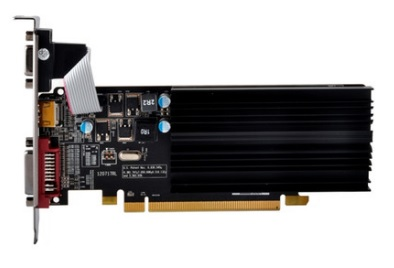 Placa de Vídeo AMD Radeon R5 230 1GB DDR3 64Bits Low Profile R5-230A-ZLH2 - XFX