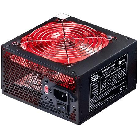 Fonte ATX VX500 VX Gamer 500W com Led Vermelho 24424 - Vinik
