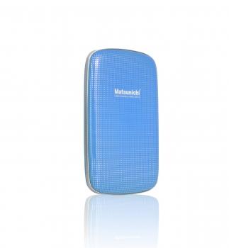 Hard Disk Externo 500GB Azul USB 3.0 DM256-BU-500GB - Matsunichi
