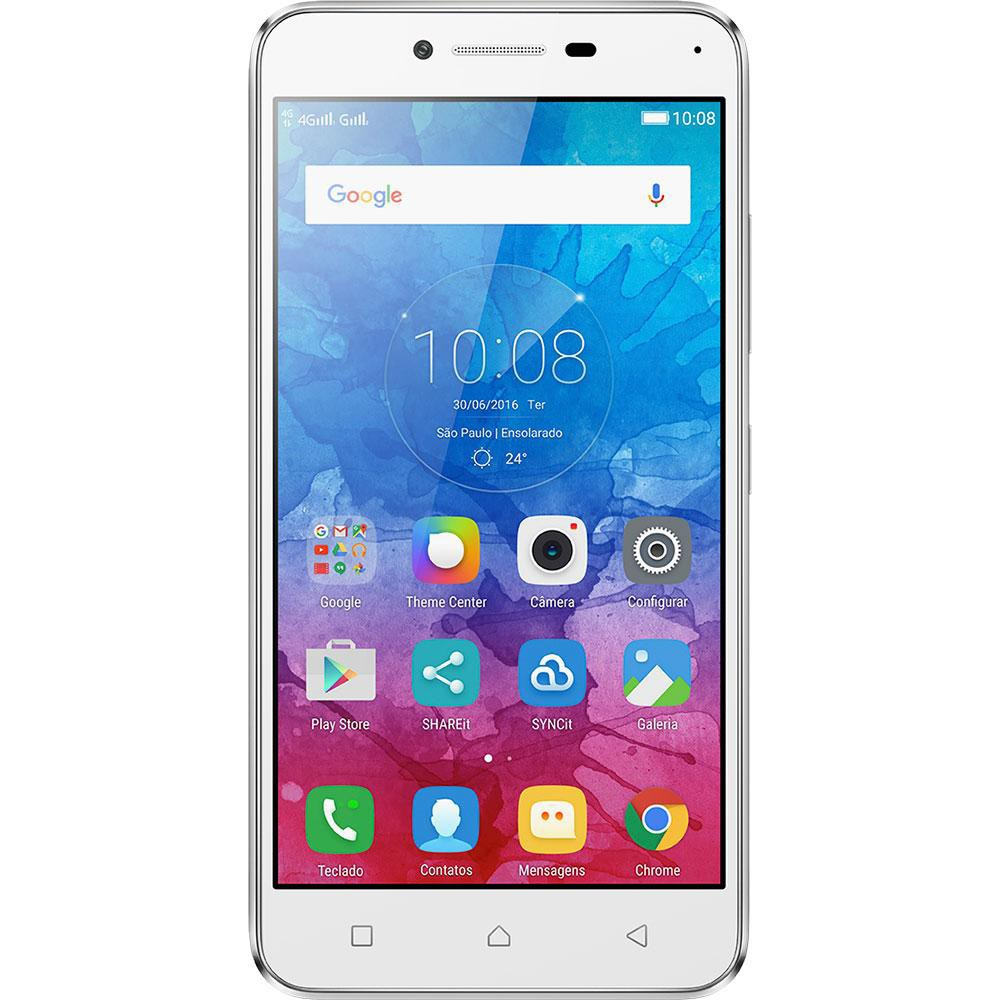 Smartphone Vibe K5, Octa Core , Android 5.1, Tela Full HD 5, 13MP, 16GB, 4G, Dual Chip, Prata - Lenovo