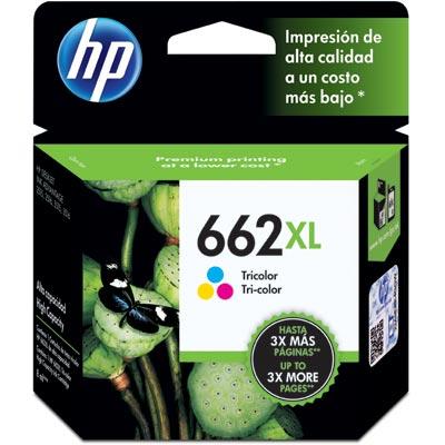 Cartucho 662XL Colorido CZ106AB - HP