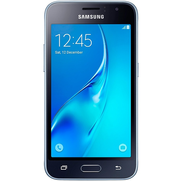 Smartphone Galaxy J1 Duos J120H/DS, Quad Core 1.2 GHz, Android 5.1, Tela 4.5, 8GB, 5MP, 3G, Preto - Samsung