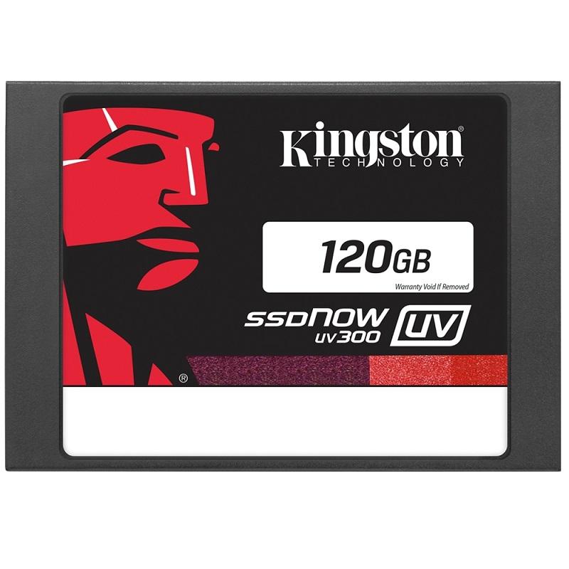 SSD 120GB SUV300 Sata III 550MB Leitura 350MB Escrita 2,5 SUV300S37A/120G - Kingston