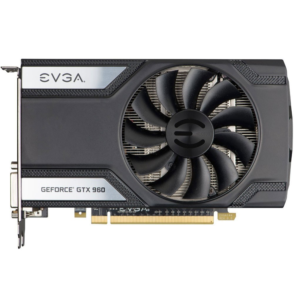 Placa de Vídeo Geforce GTX960 4GB SC DDR5 128Bits 04G-P4-1962-KR - EVGA