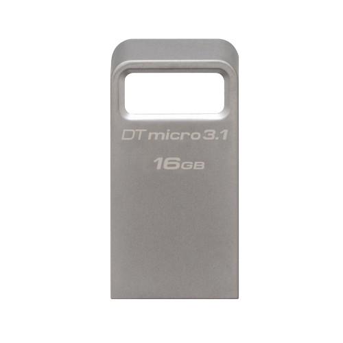 Pen Drive Micro 16GB USB 3.1 Prata DTMC3/16GB - Kingston