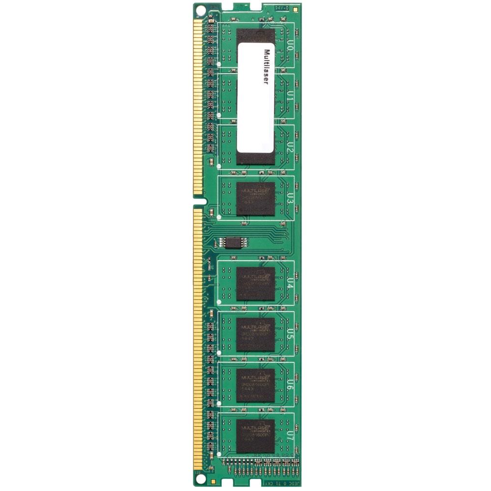 Memória 4GB 1600Mhz DDR3 CL11 MM410 - Multilaser
