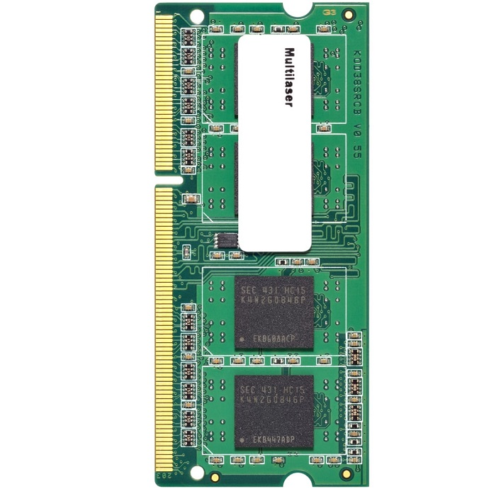 Memória para Notebook 8GB 1600Mhz DDR3 CL11 MM820 - Multilaser
