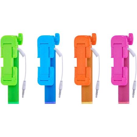 Selfie Stick com AC284 Compat�vel com Apple e Android Sortidos - Multilaser