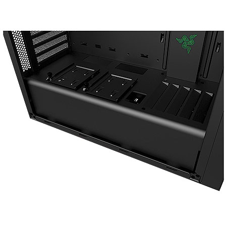 Gabinete Mid Tower S340 Razer Edition Lateral em Acrilíco CA-S340W-RA - NZXT