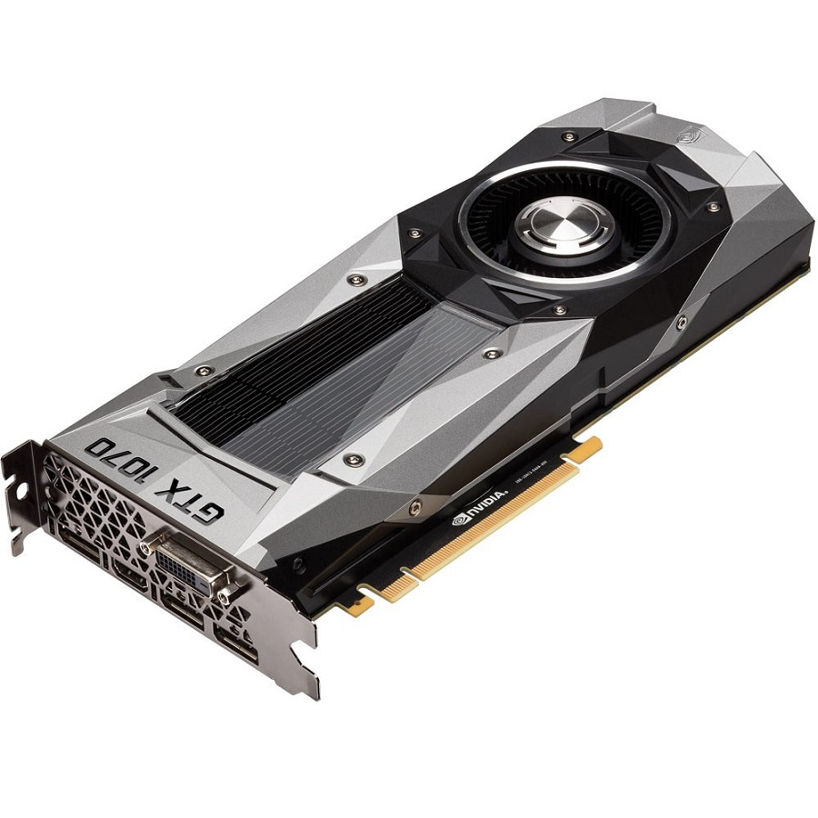 Pré-Venda Placa de Video Nvidia GTX 1070 Founders Edition 8GB GDDR5 256Bits GV-N1070D5-8GD-B - Gigabyte