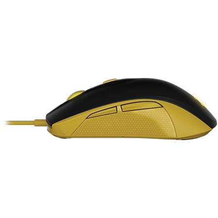 Mouse Gamer Óptico Rival 100 Pronton Amarelo 62340 - SteelSeries