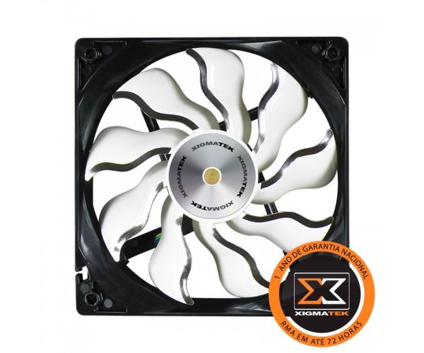 Cooler para Gabinete 120mm XAF-F1252 White - Xigmatek