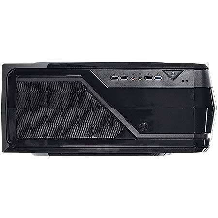 Gabinete Mid Tower Eclipse VX Gamer Preto Lateral em Acr�lico 23379 - Vinik
