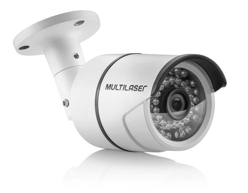 Câmera de Segurança Bullet TVi 720p Led 3.6mm 36 Leds Metal SE163 - Multilaser