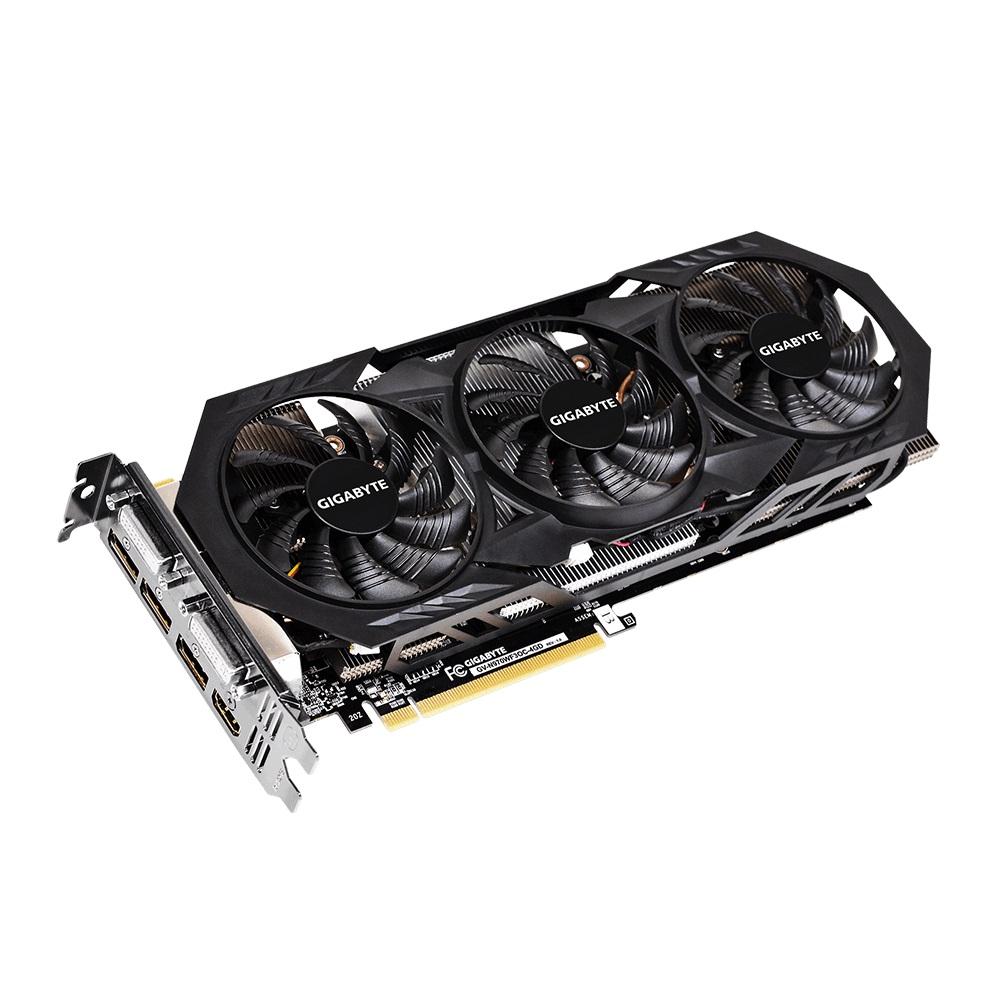 Placa de Vídeo Geforce GTX970 4GB DDR5 256Bits 3D Ready 4K GV-N970WF3OC-4GD - Gigabyte