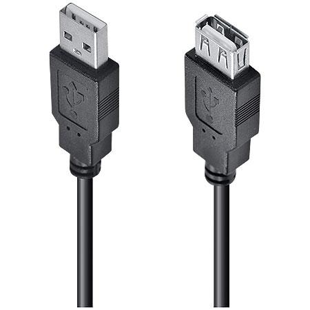 Cabo 2.0 USB A Macho x USB A Fêmea 3 Metros UAMAF-3 - VINIK