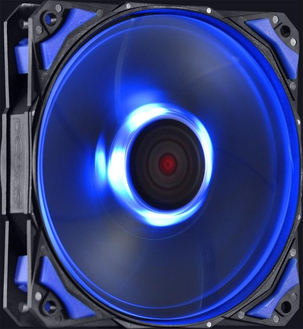 Cooler para Gabinete Fury F4 120mm LED Azul F4120LDAZ - Pcyes