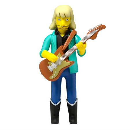 The Simpsons 25TH annivesary Series 4 Action Figure Brad Whitford