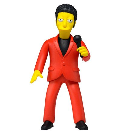 The Simpsons 25TH annivesary Series 4 Action Figure Tom Jones