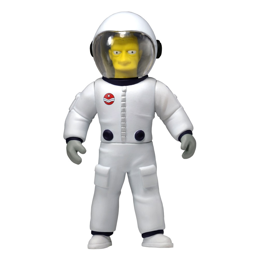 The Simpsons 25TH annivesary Series 4 Action Figure Buzz Aldrin
