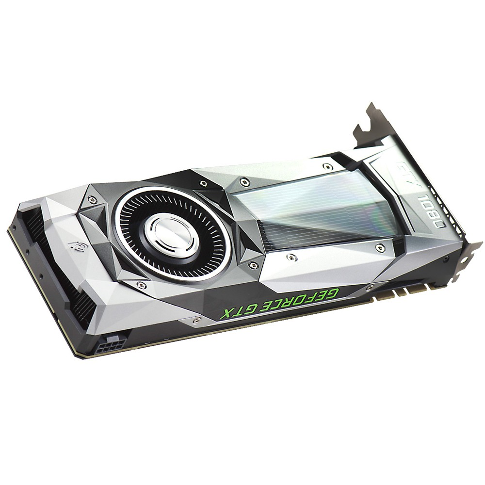 Placa de Vídeo Nvidia GeForce GTX 1080 FOUNDERS EDITION 8GB GDDR5X 256Bits 08G-P4-6180-KR - EVGA