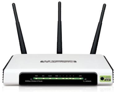 Roteador Wireless N 300Mbps com Bot�o QSS TL-WR940N - Tplink