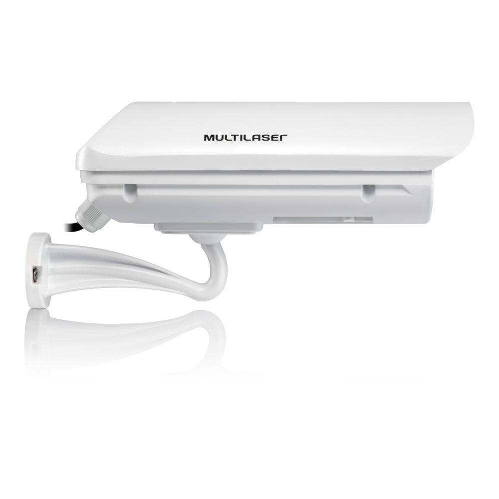 Câmera de Segurança Externa 960P AHD lente 16mm Branca SE145 - Multilaser