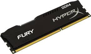 Memória Hyper X Fury DDR4 8GB HX424C15FB2/8 2400Mhz Preto - Kingston
