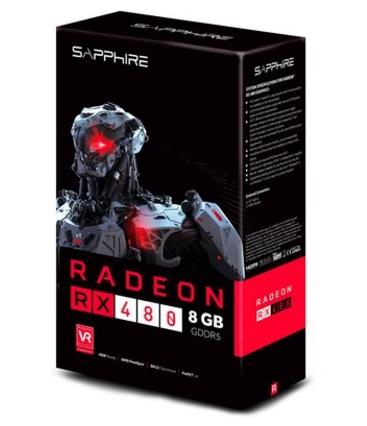 Placa de Vídeo AMD RX480 8GB GDDR5 256Bits 21260-00-20G - Sapphire